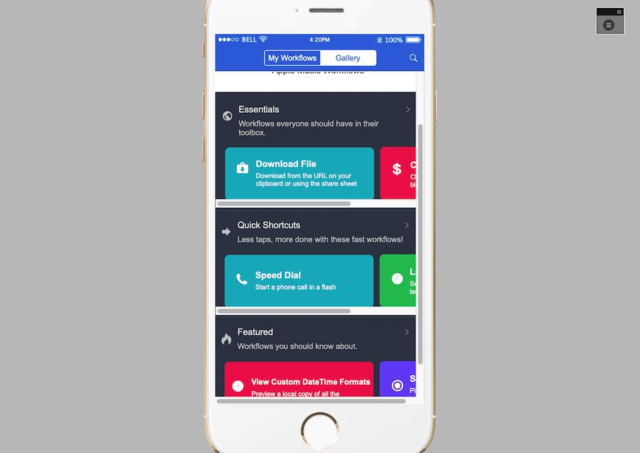 Workflow App Template