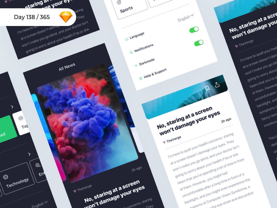 iNews App Concept