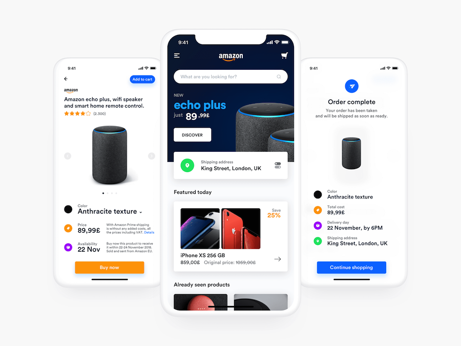 Amazon Refresh Design