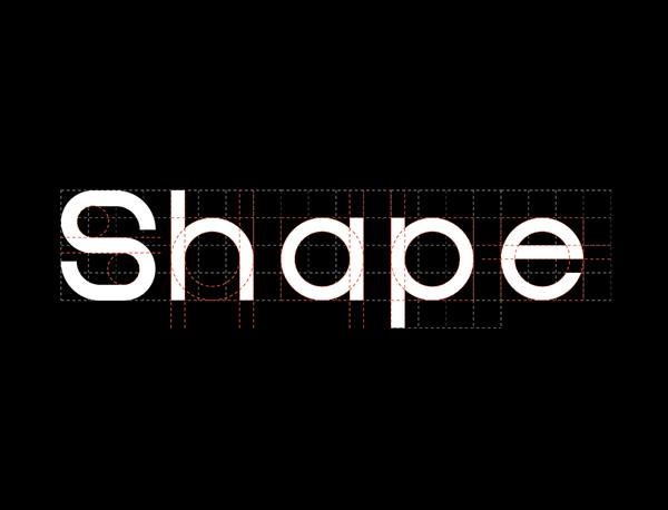 Shapes free font