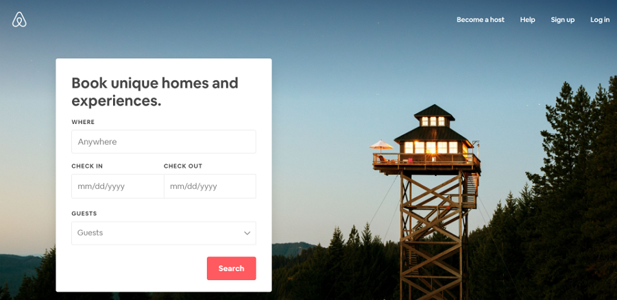 Airbnb - Booking From Based on Where You Are
