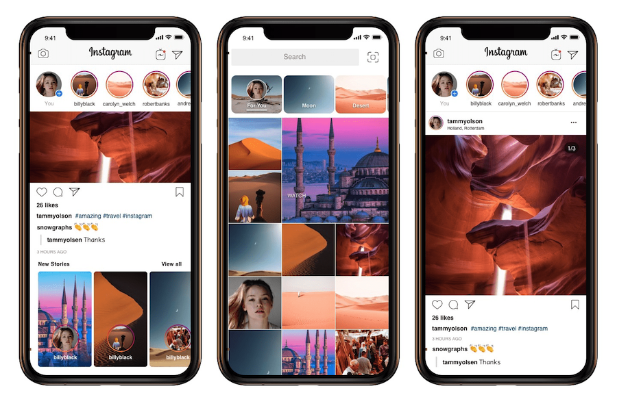 Instagram App Template 2019