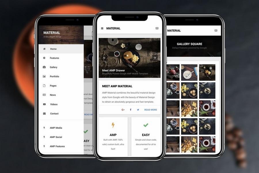 AMP Material - Google AMP App