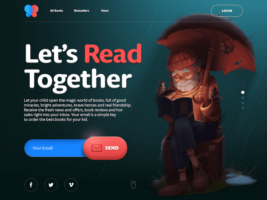Books for Children Website