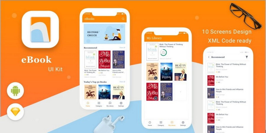 e-Book - Online Reading App