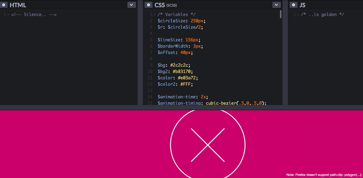 CSS3 Only Hamburger