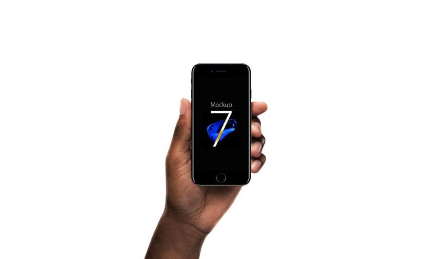 Clean iPhone 7 Mockup