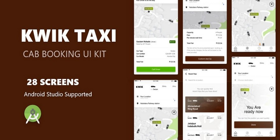Kwik Taxi - Taxi Booking App