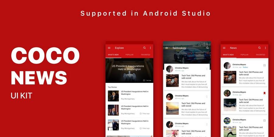 CoCo News - News-reading App