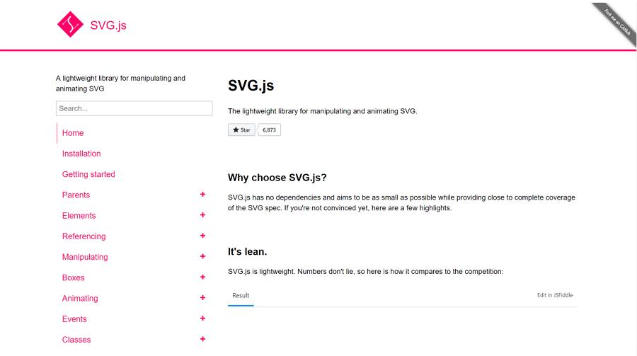SVG.js
