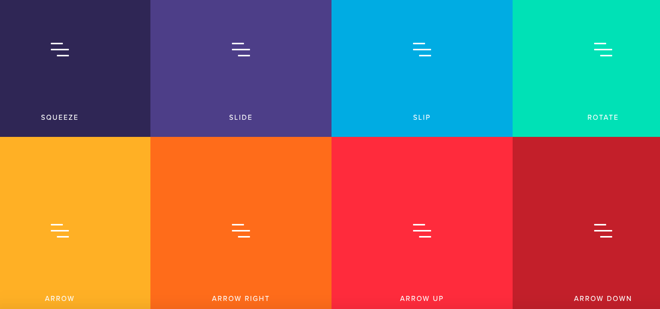 Hamburger Toggle Animations in CSS