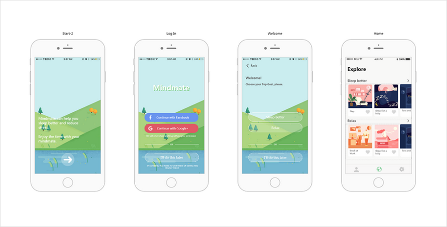 Mindmate - Health Care App