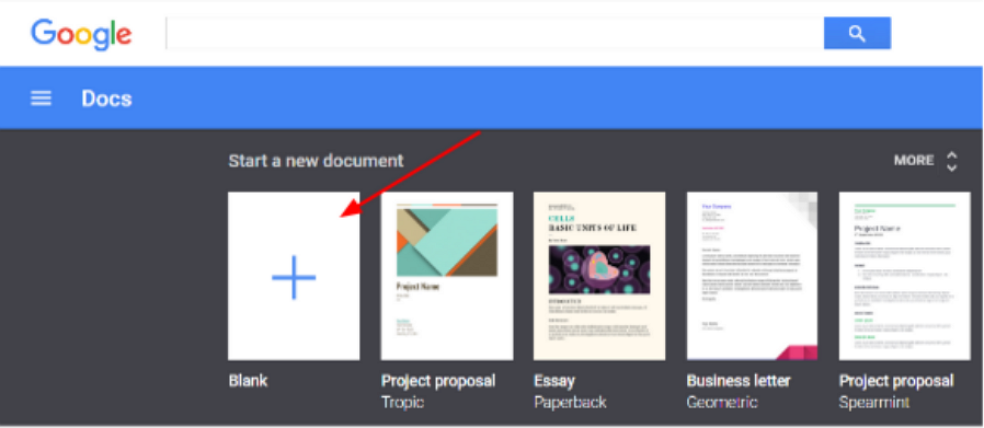 Google Docs Online Document Collaboration Tool