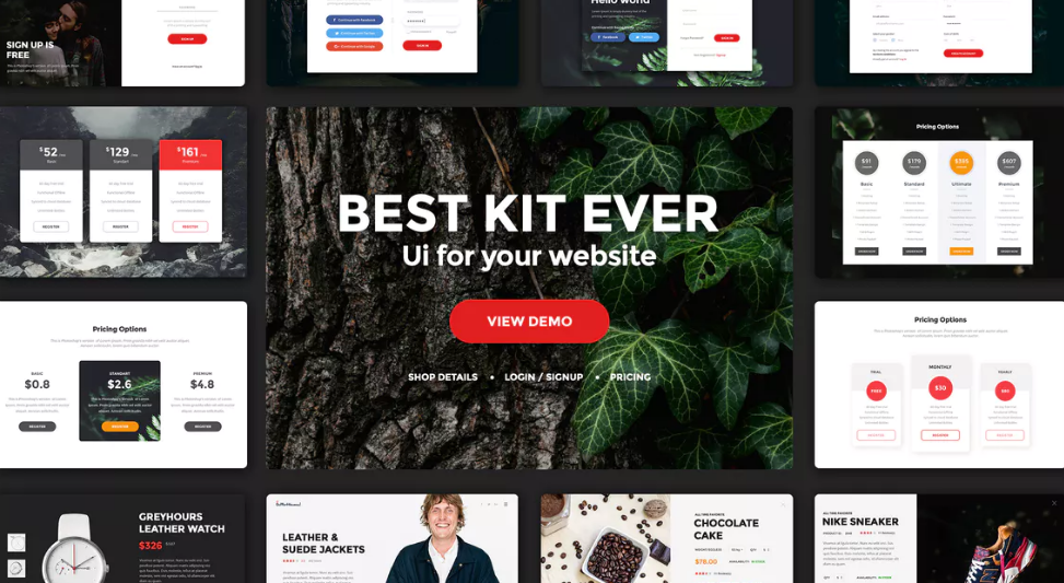 Multipurpose Web UI Kit