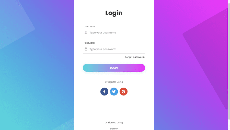 20 Best Login Page Examples and Responsive Templates [FREE