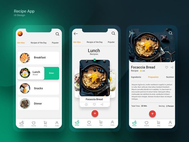 App Ideas Using React Native Technology -Food App Idea