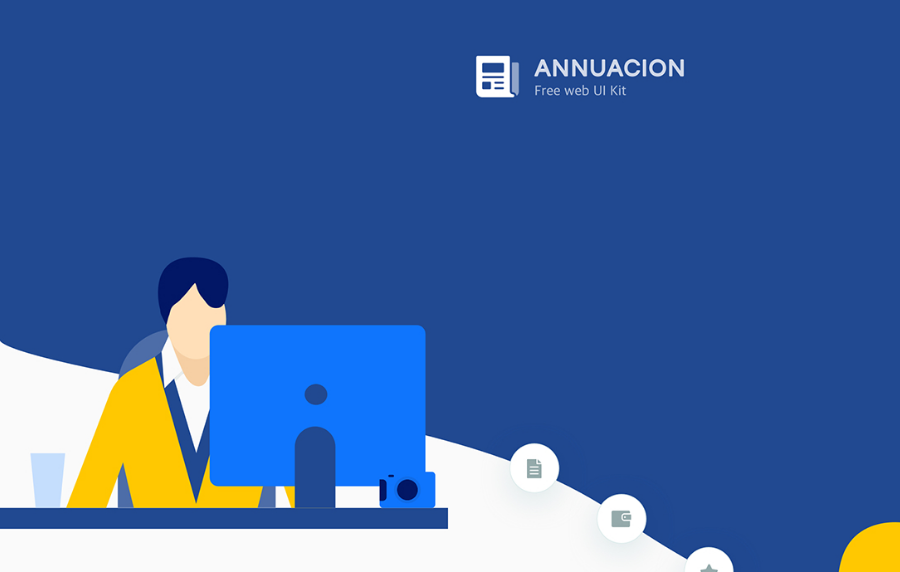 Annuacion Free web UI kit