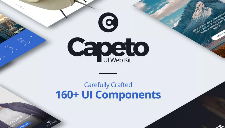 Capeto Web UI Kit