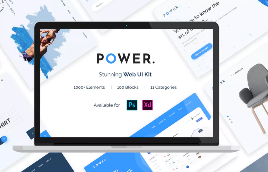 Power web UI kit
