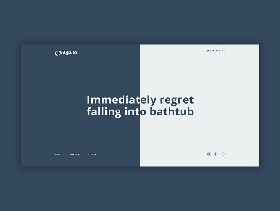 Oregano Free Website Template