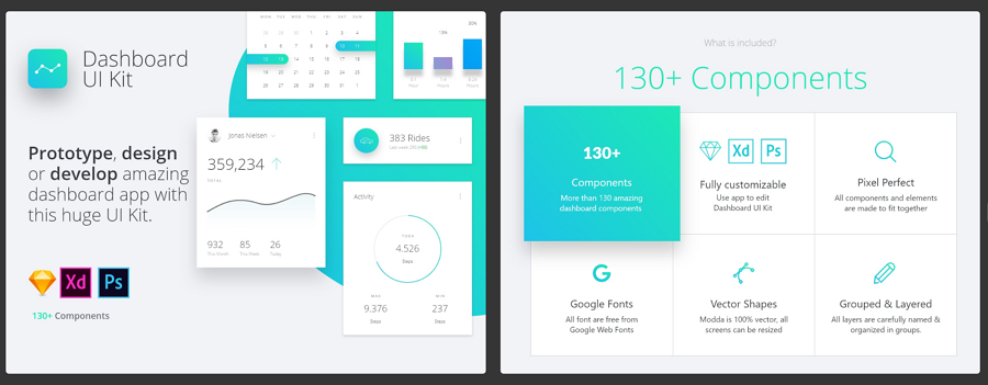Datta Dashboard UI Kit