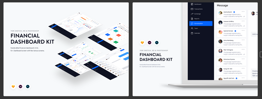 Finance Dashboard UI Kit