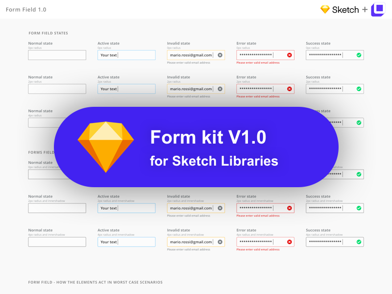 UI Kit Form 1.0