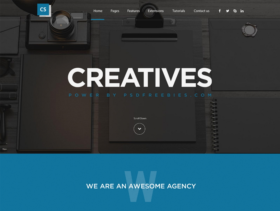 Creatives Web Template