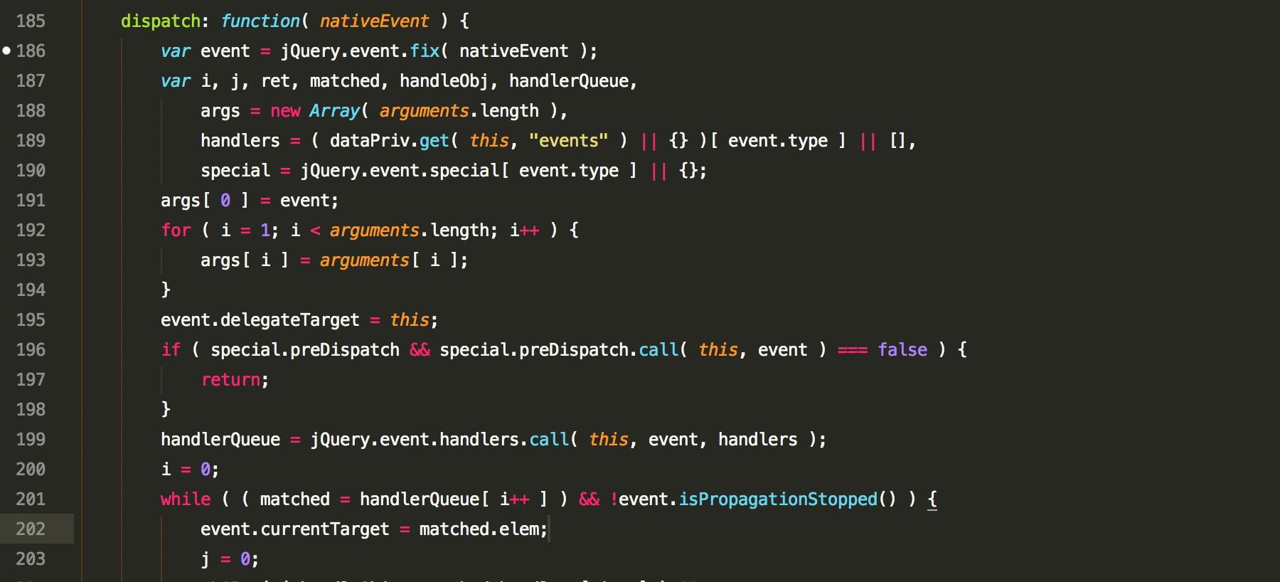 JavaScript 代码示意图