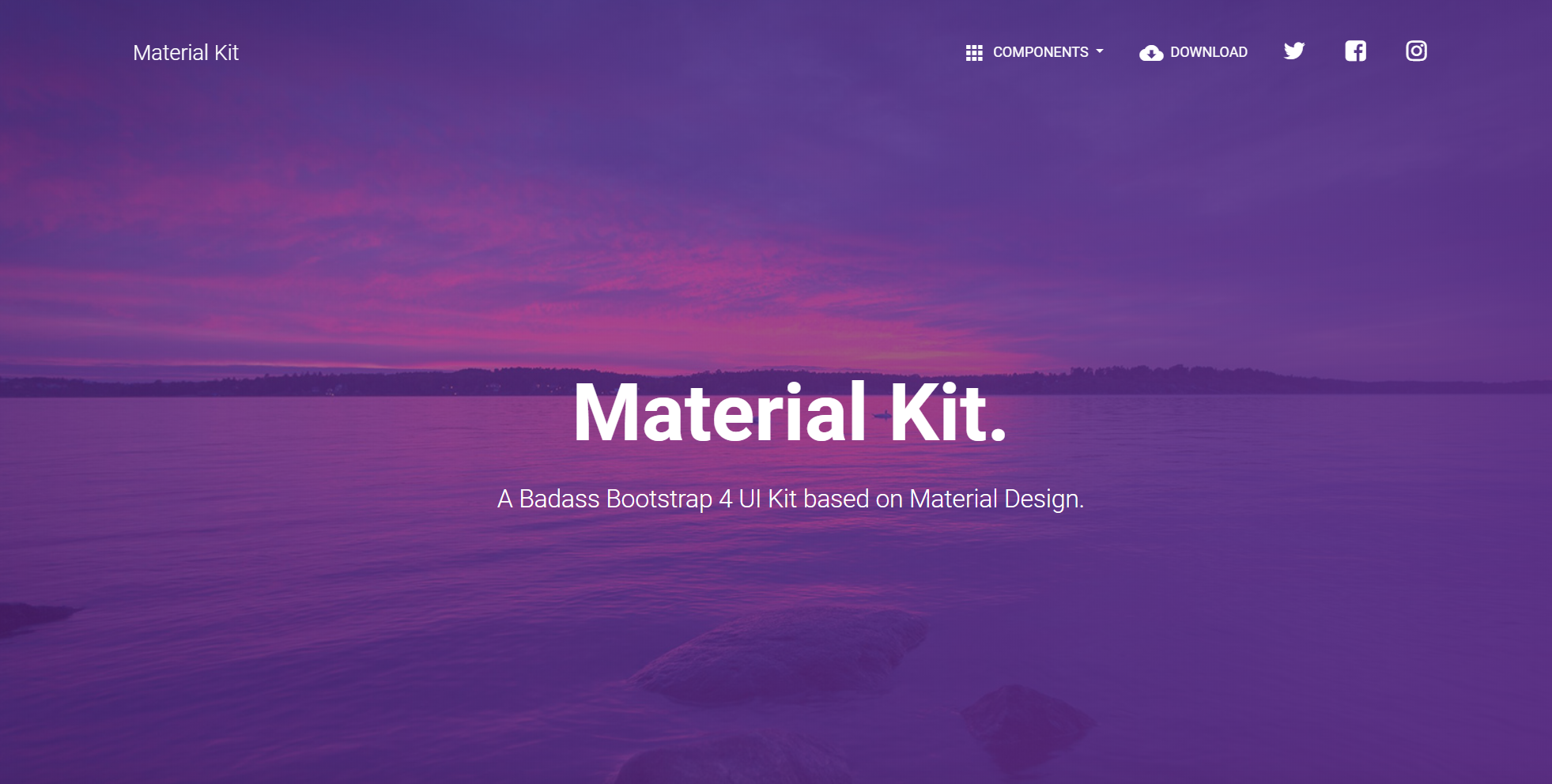 Material Kit -Material Design Example