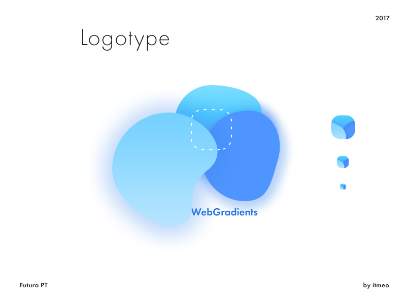 Web Gradients Logotype (Freebie)