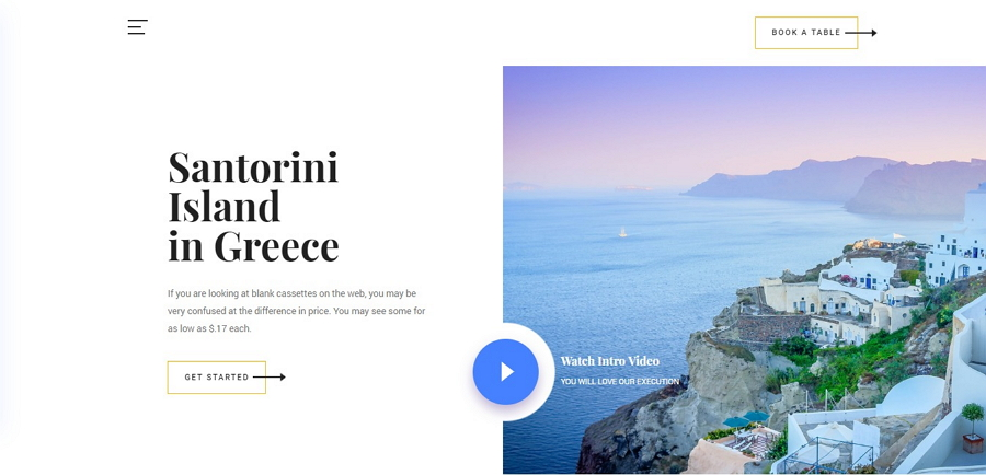 Beyond - Free Simple Template for Travel Websites