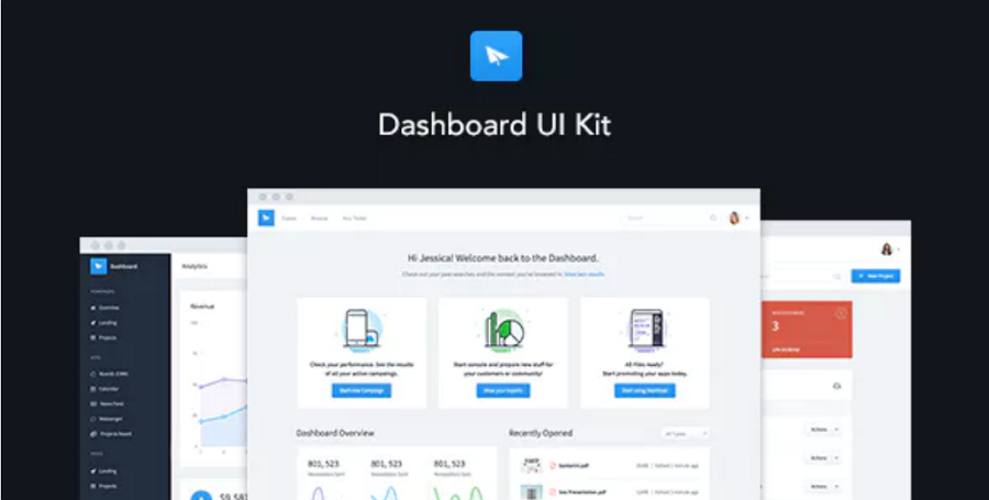 Admin Dashboard Template & UI Framework
