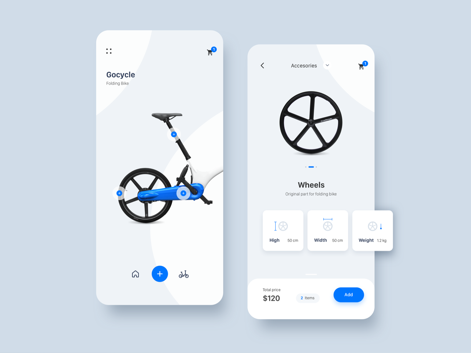 Bike Store App design