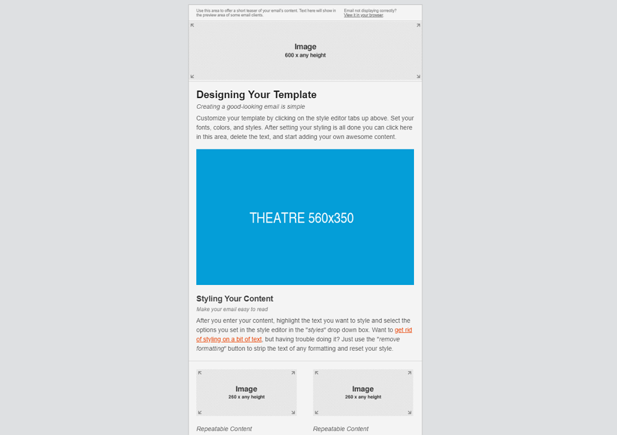 Template by MailChimp