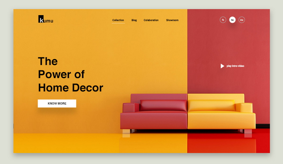 Color Contrast Helps Stand Out a Website Design