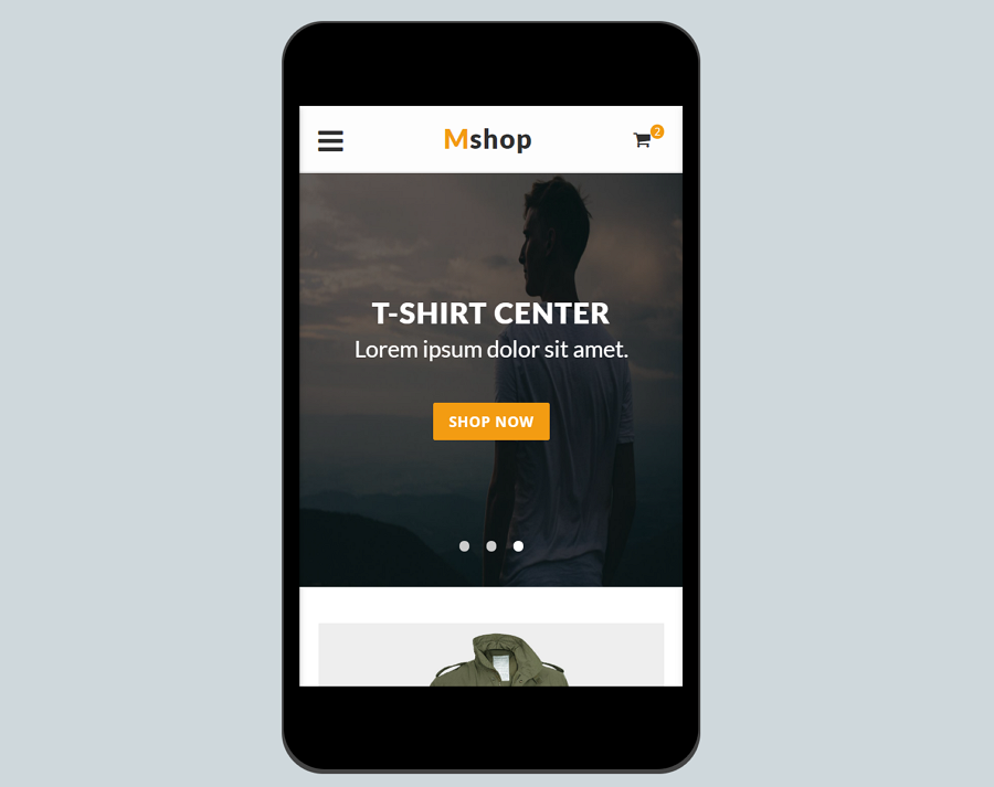 Mshop-ecommerce-mobile-template