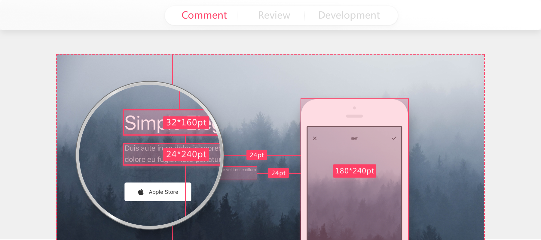 Developers can freely check and download assets, copy CSS codes