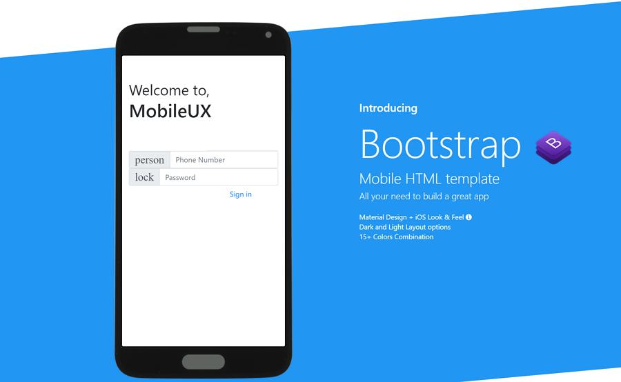 Mobileux-multipurpose-html-mobile-app-template