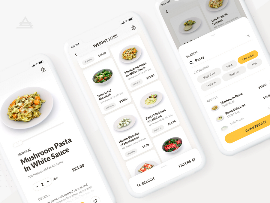 Food Delivery iOS App