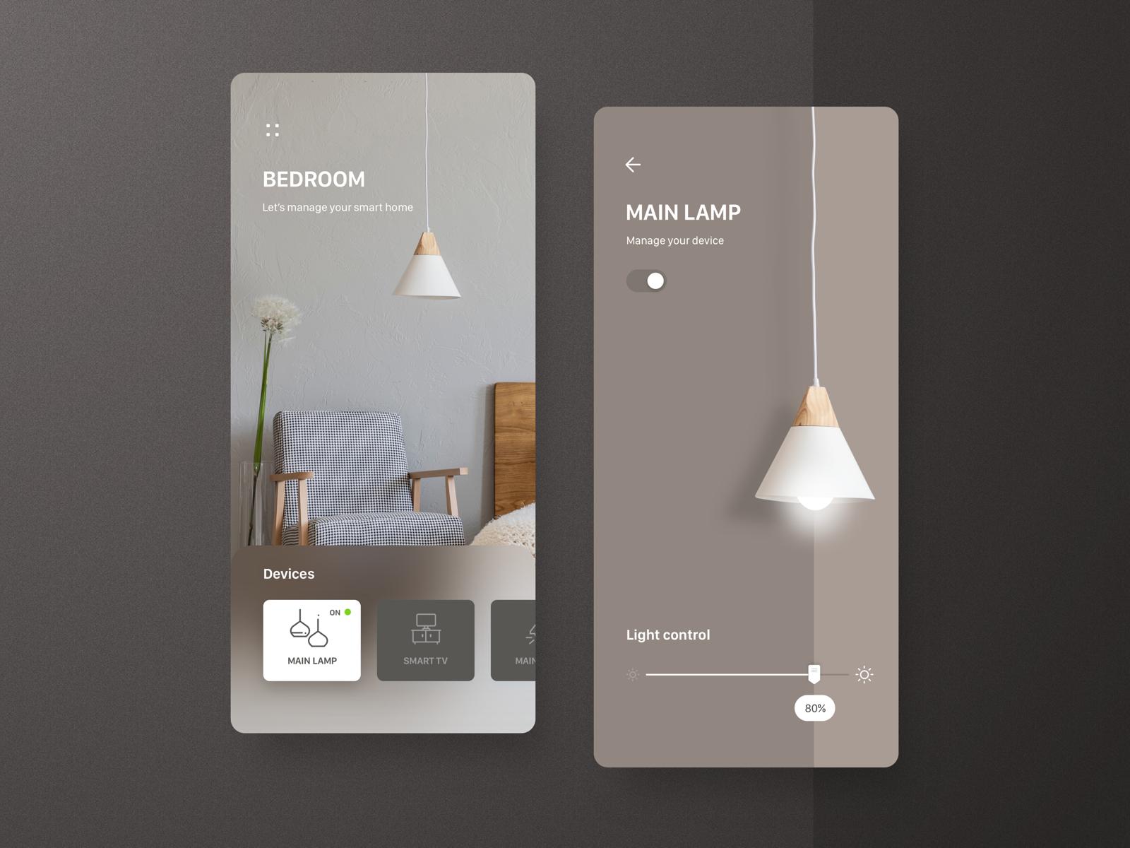 Smart Home App design