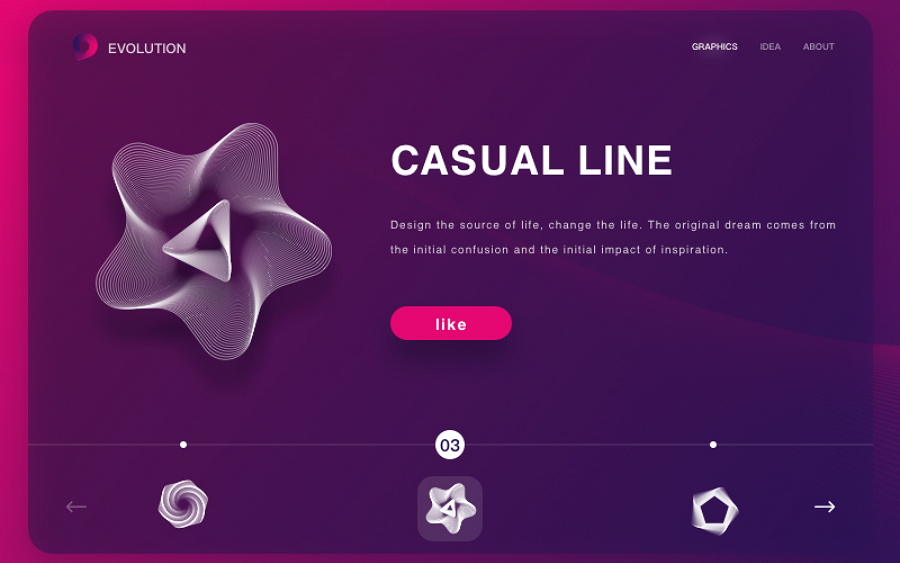 Create Stunning Websites with Lines Points and Shapes