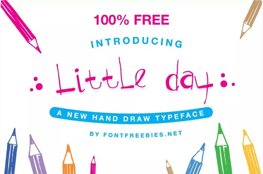 Little Day Font