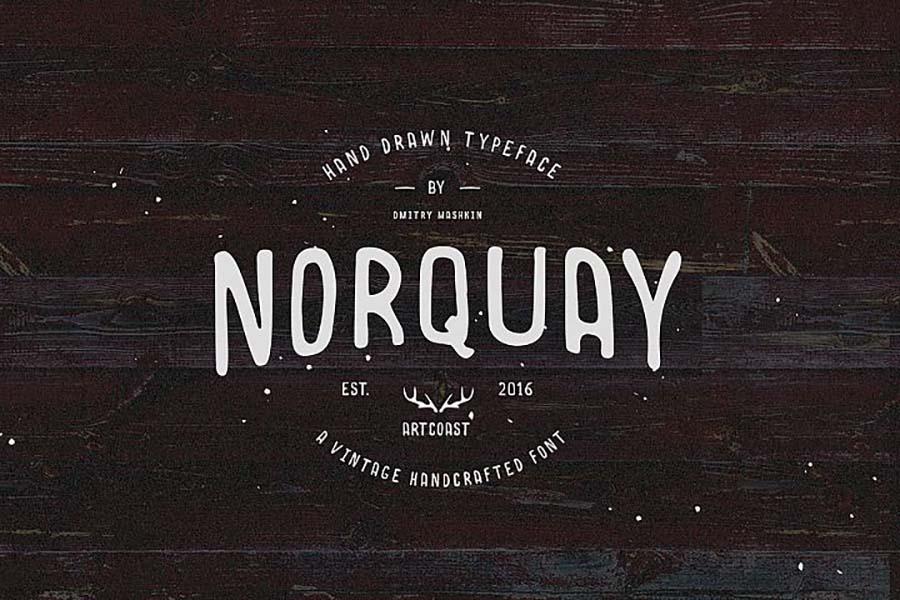 NorquayHand-Drawn Font