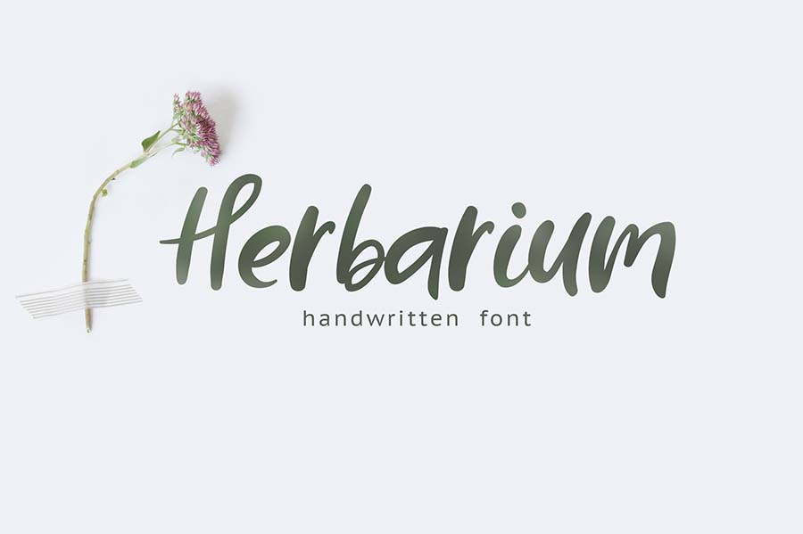 Herbarium font