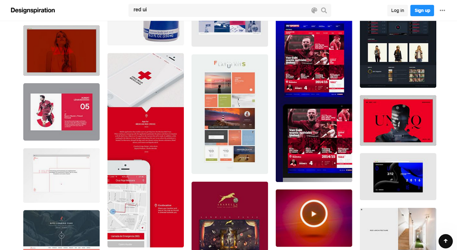 Design Inspiration Tool to Search For Color Design Inspiration With Ease