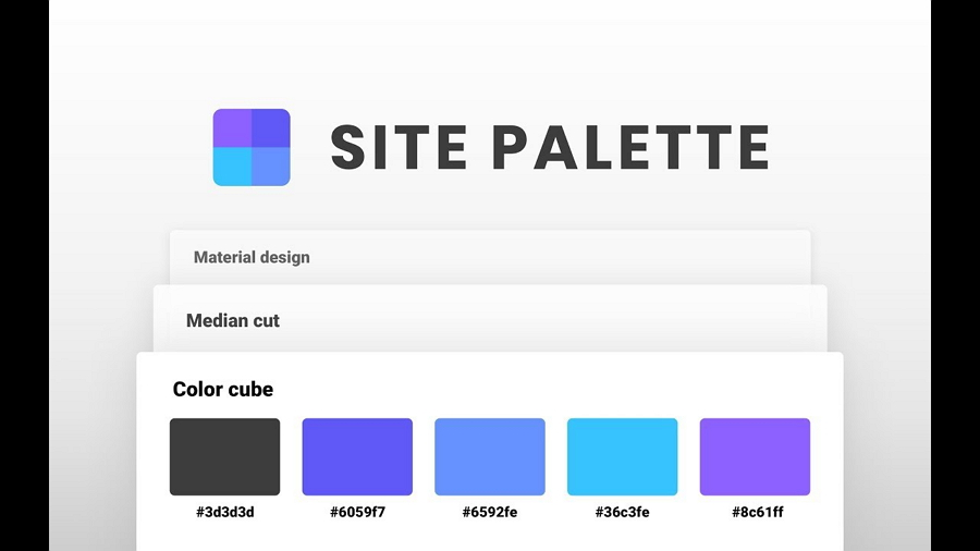 Site Palette Google Extension to Extract Colors From Any Website