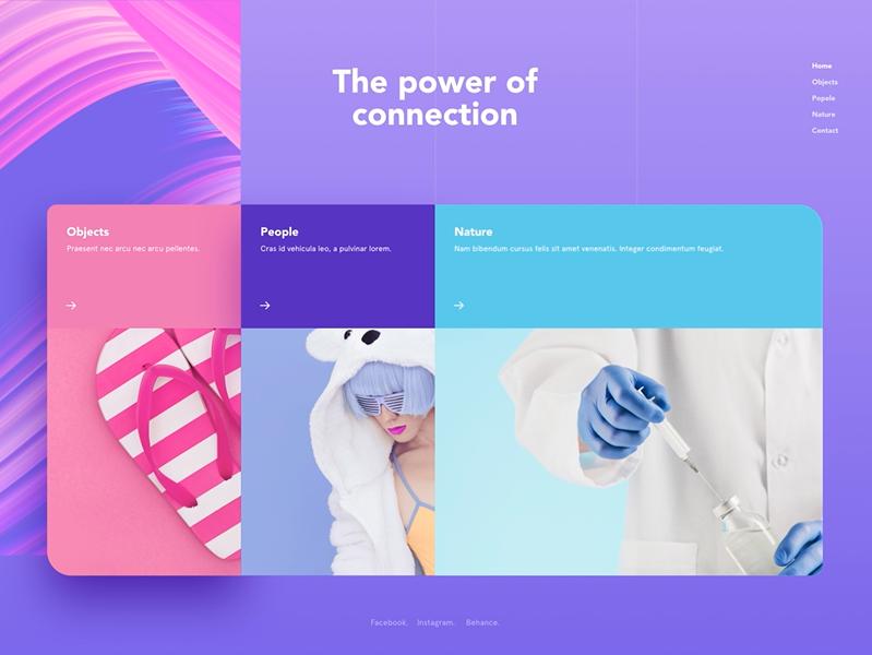 Website background design Freestyle Design