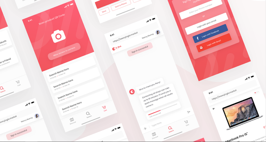 E-bot - Chatbot App