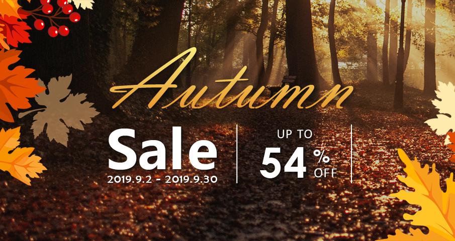 Mockplus Autumn sales